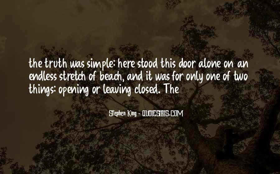Quotes About Leaving Someone Alone #17225