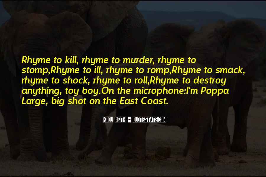 Quotes About Rhyme #109405
