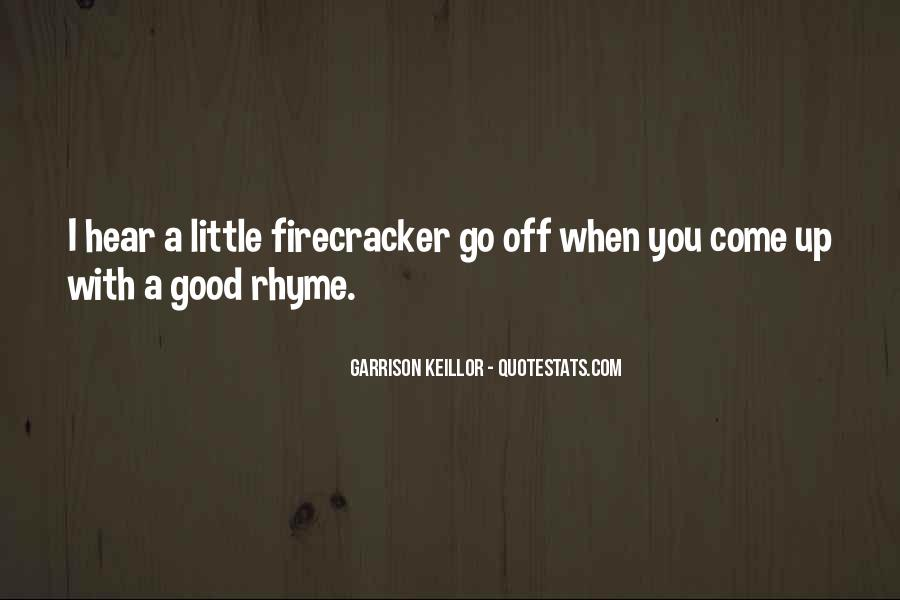 Quotes About Rhyme #141742