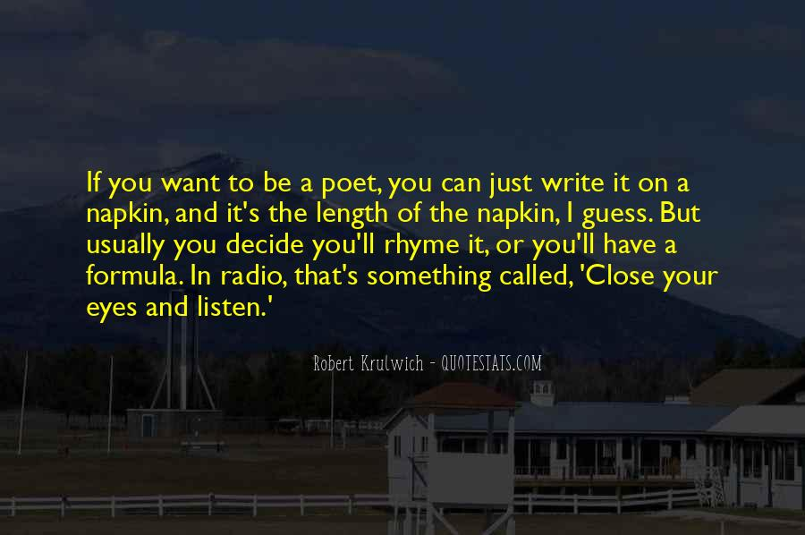 Quotes About Rhyme #145731