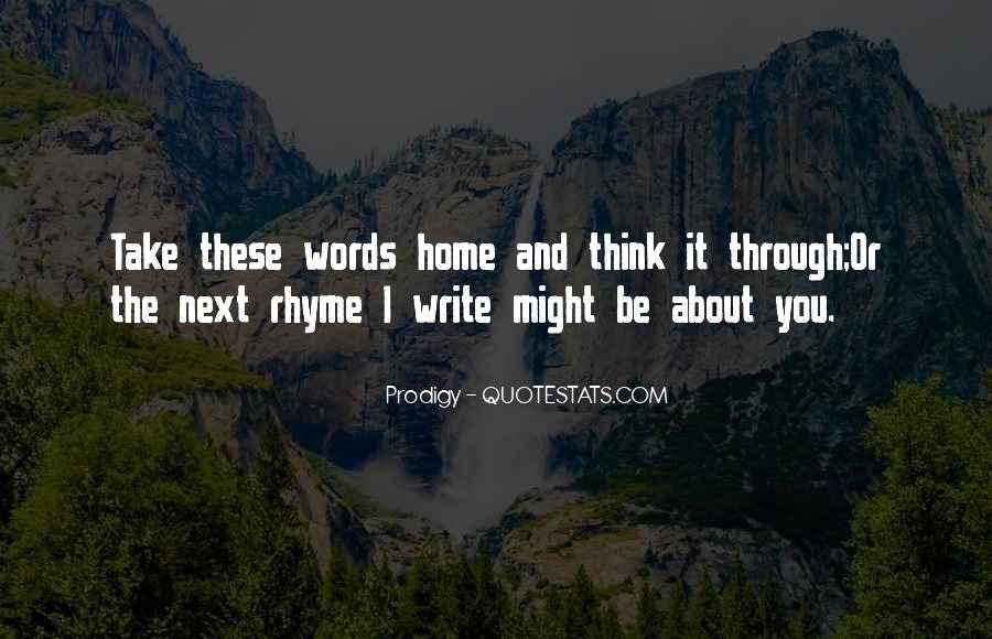 Quotes About Rhyme #149940