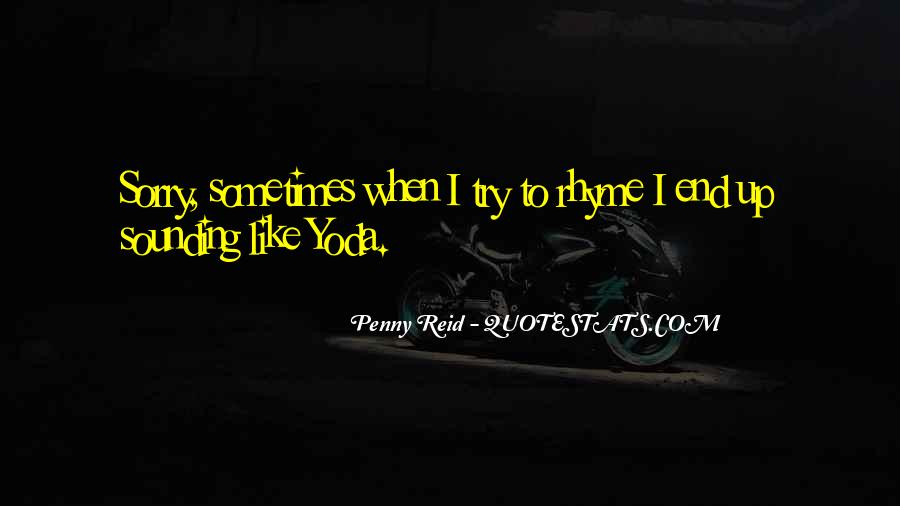 Quotes About Rhyme #168735