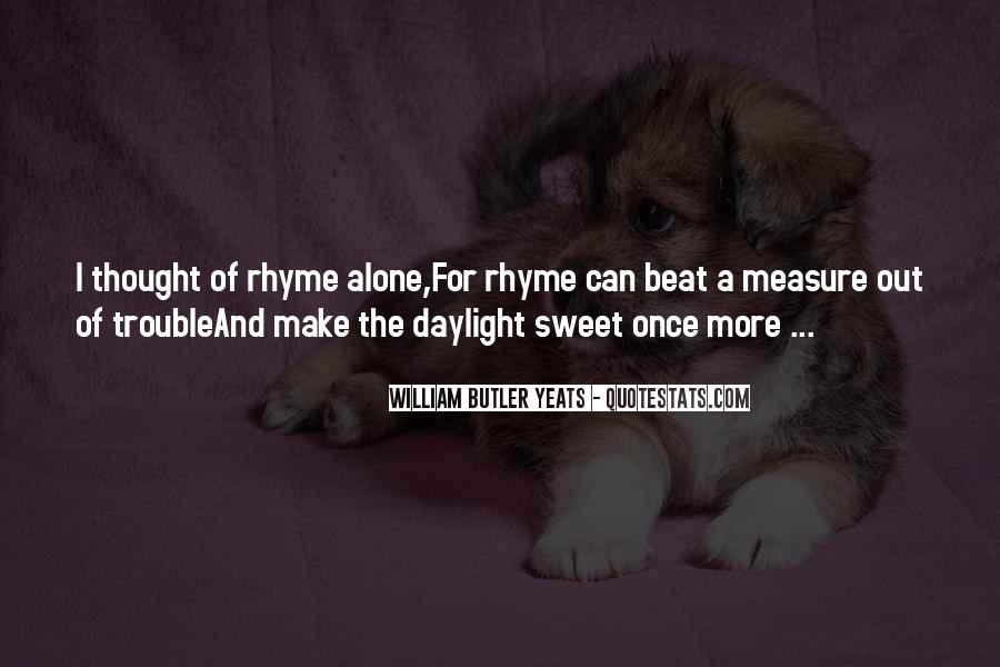 Quotes About Rhyme #183178