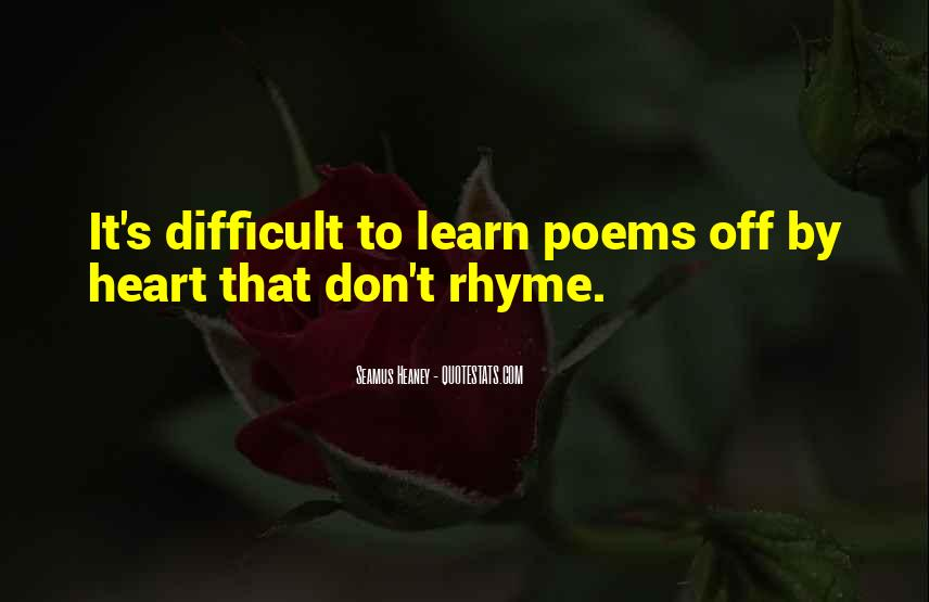 Quotes About Rhyme #273303