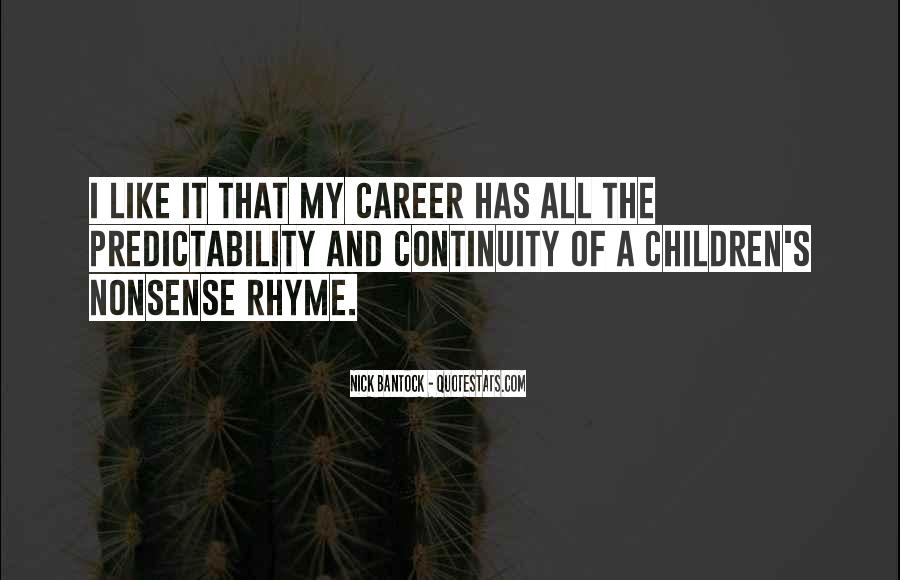 Quotes About Rhyme #28936