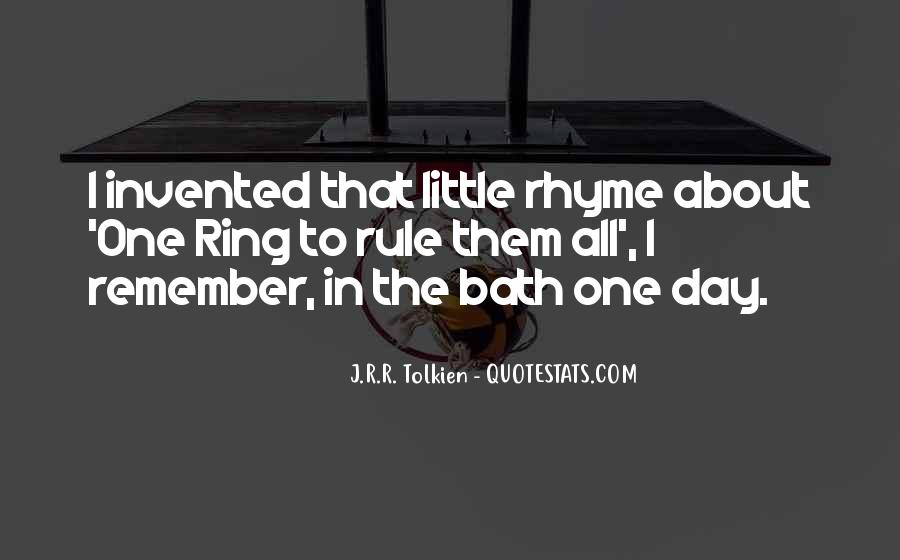 Quotes About Rhyme #318338