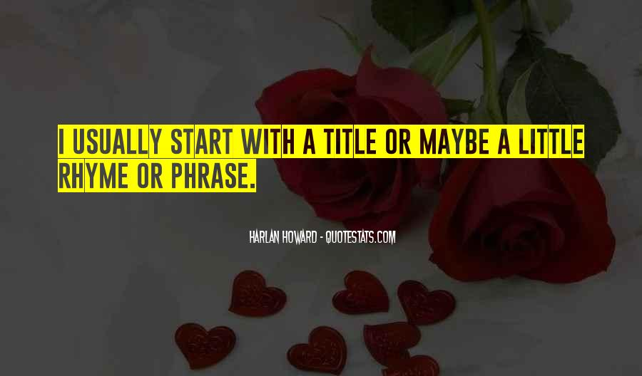 Quotes About Rhyme #319743