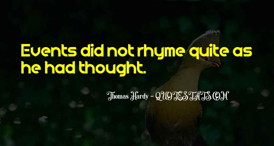 Quotes About Rhyme #366733