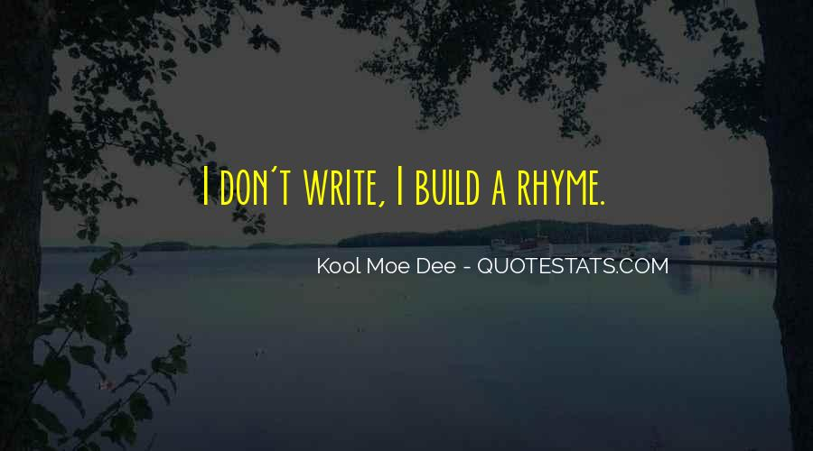 Quotes About Rhyme #41235
