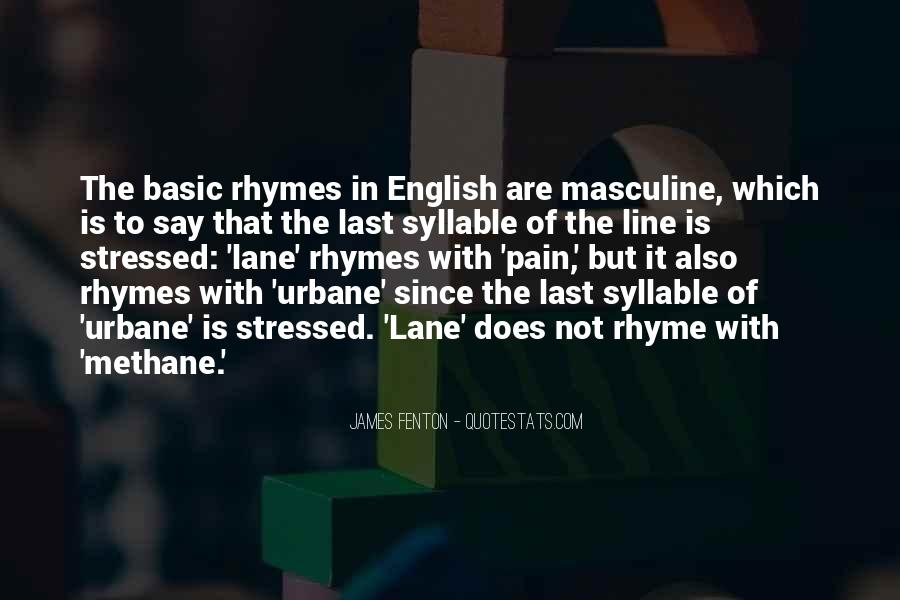 Quotes About Rhyme #99690