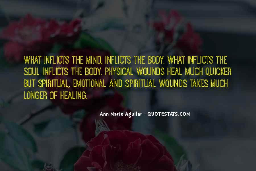 Quotes About Healing Physical Pain #396735