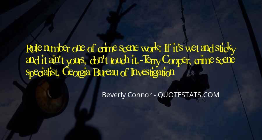 Quotes About Crime Scene Investigation #581527