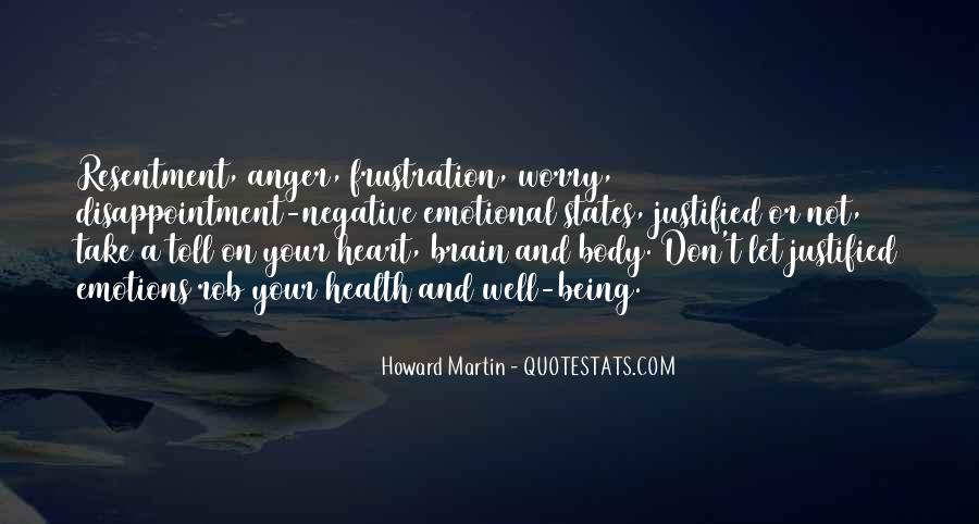 Quotes About Anger And Frustration #1597886