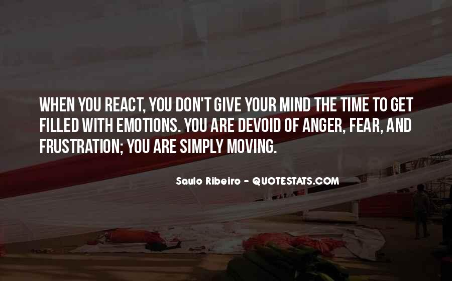 Quotes About Anger And Frustration #1657354
