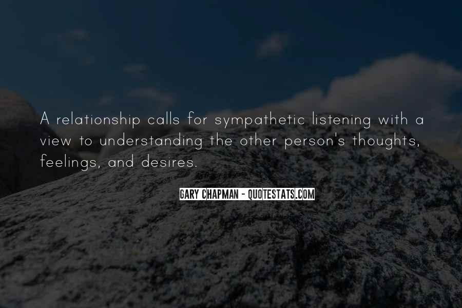 Quotes About Not Understanding Feelings #1040109