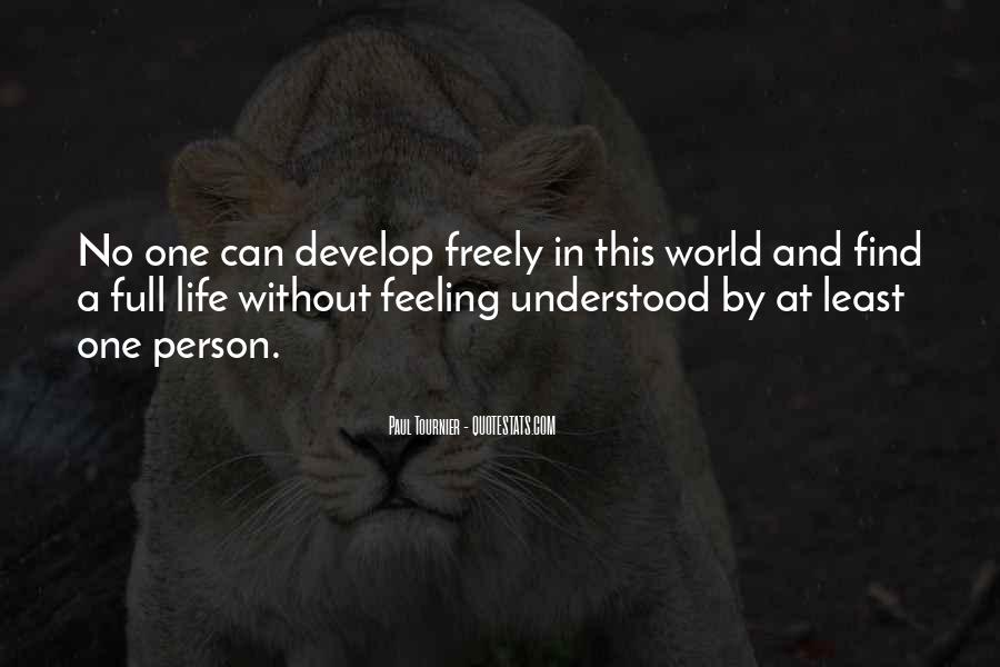 Quotes About Not Understanding Feelings #1083309