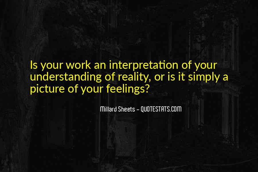 Quotes About Not Understanding Feelings #1300994