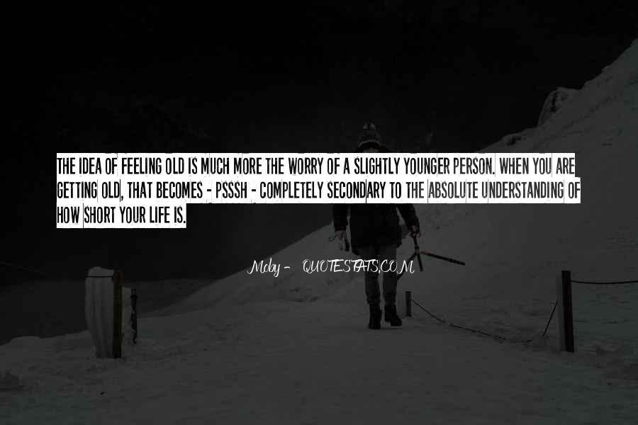 Quotes About Not Understanding Feelings #1402475