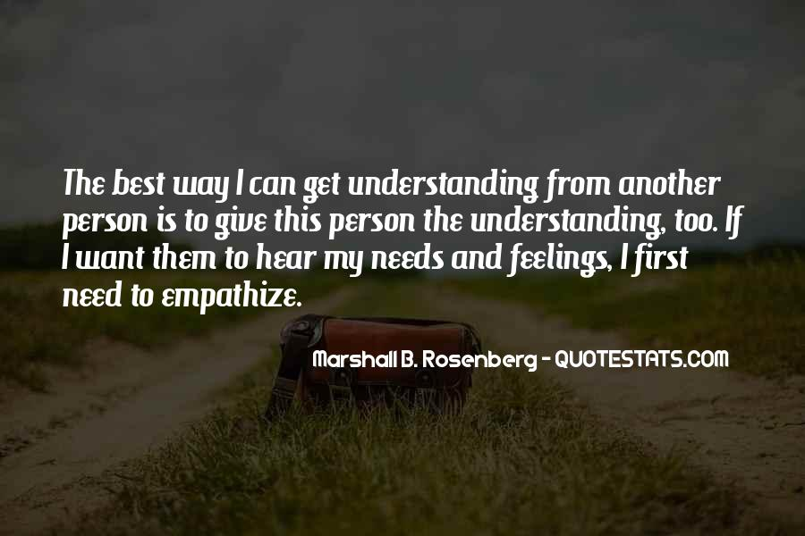 Quotes About Not Understanding Feelings #591869