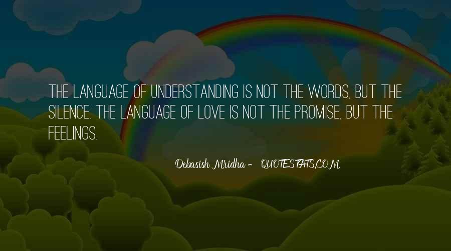 Quotes About Not Understanding Feelings #754435