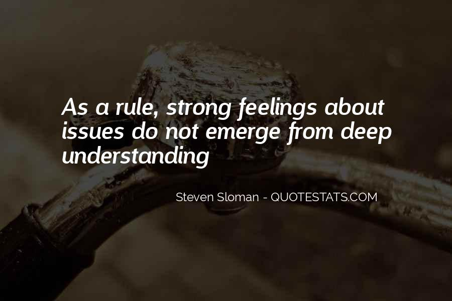 Quotes About Not Understanding Feelings #792911