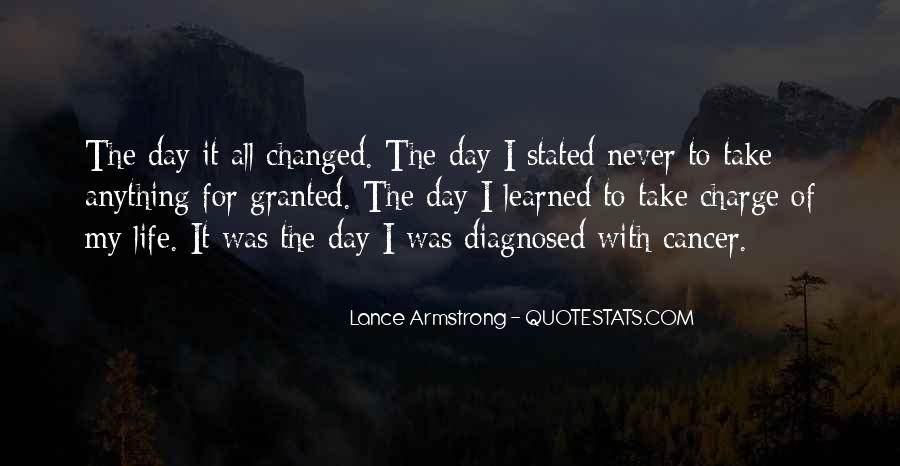 Quotes About Cancer Lance Armstrong #1383200