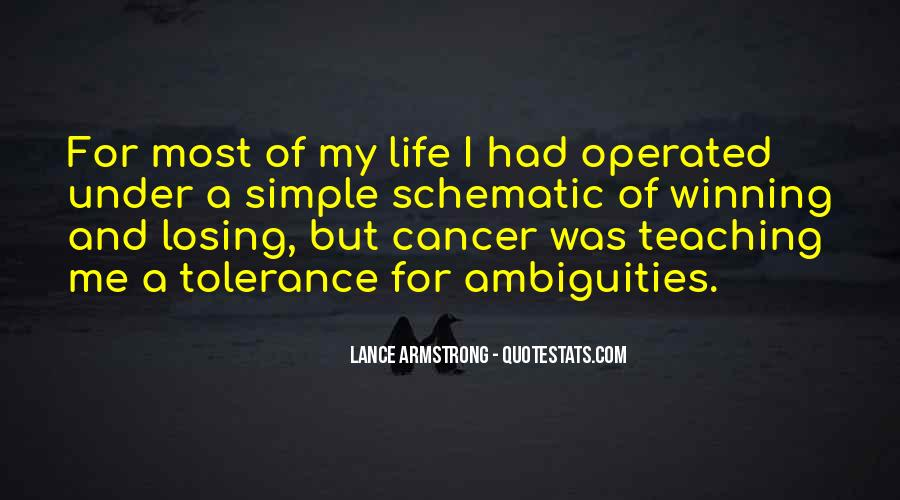 Quotes About Cancer Lance Armstrong #1498233