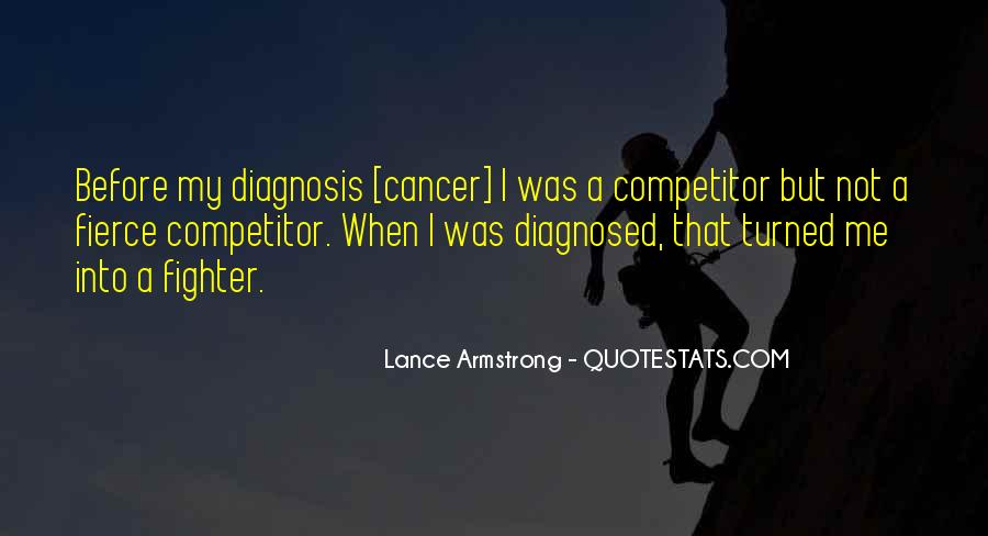 Quotes About Cancer Lance Armstrong #1770391