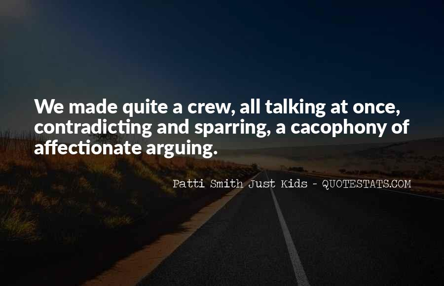 Quotes About Cacophony #483495