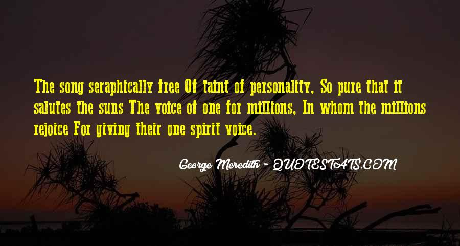 Quotes About George's Personality #1110600