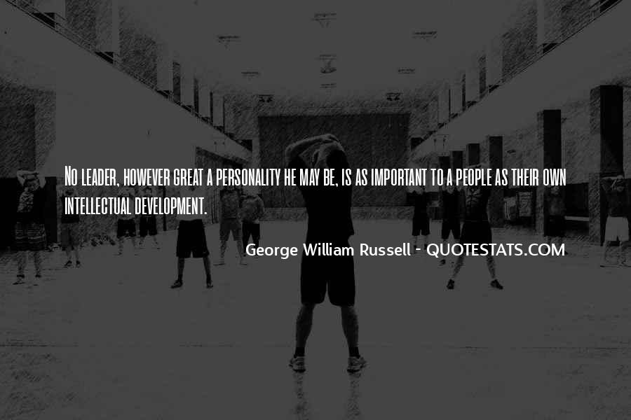 Quotes About George's Personality #1210337