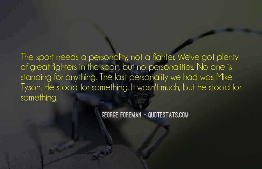 Quotes About George's Personality #1238024