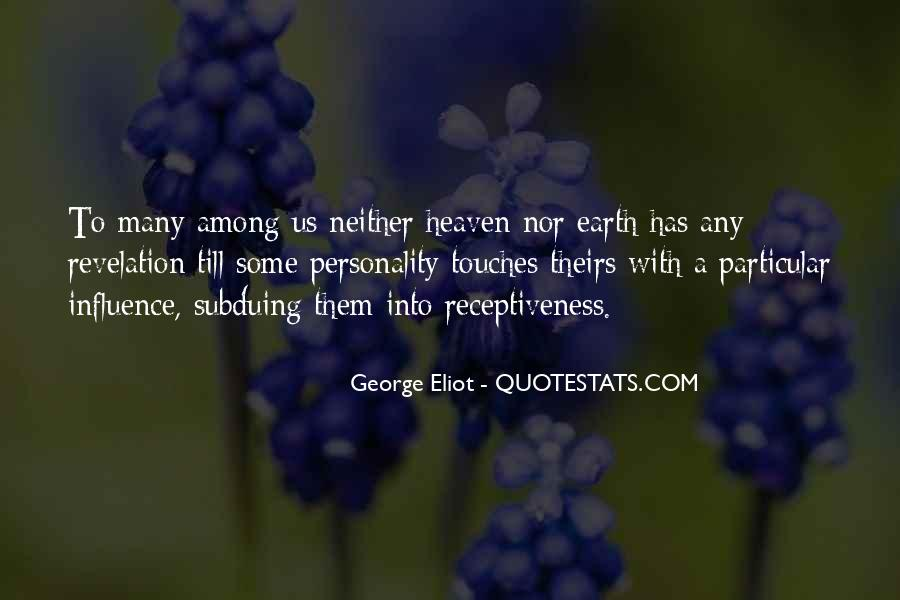 Quotes About George's Personality #1427833