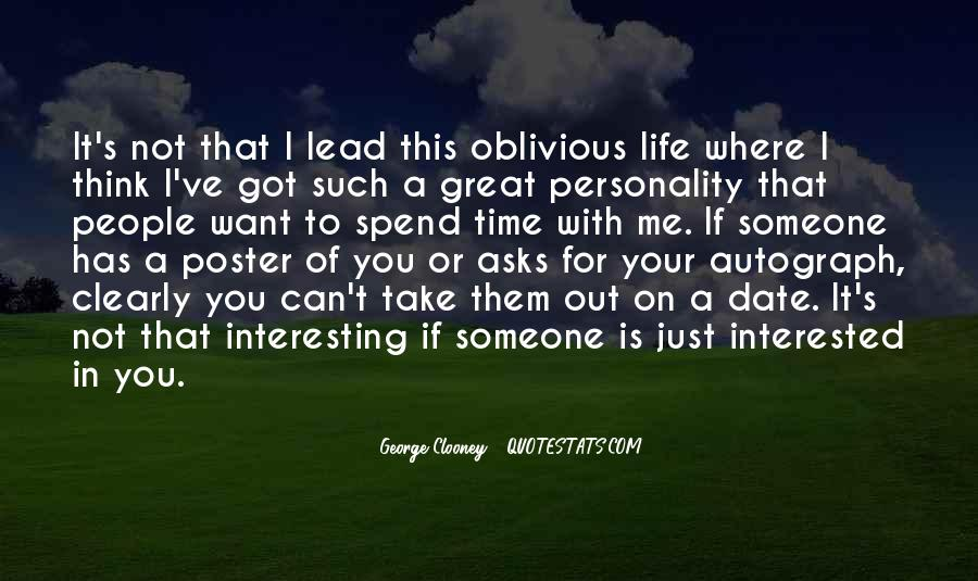 Quotes About George's Personality #151117