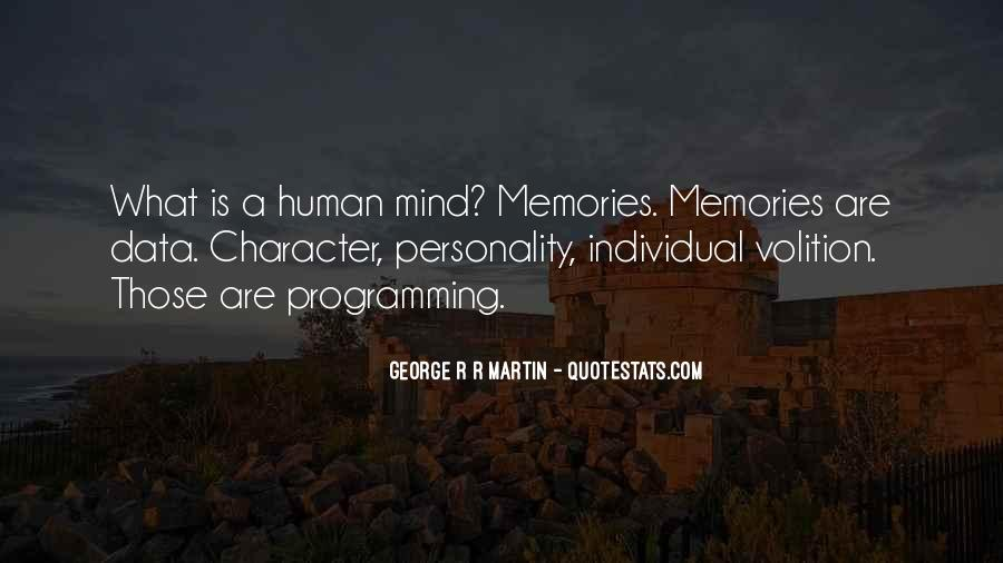 Quotes About George's Personality #1621563