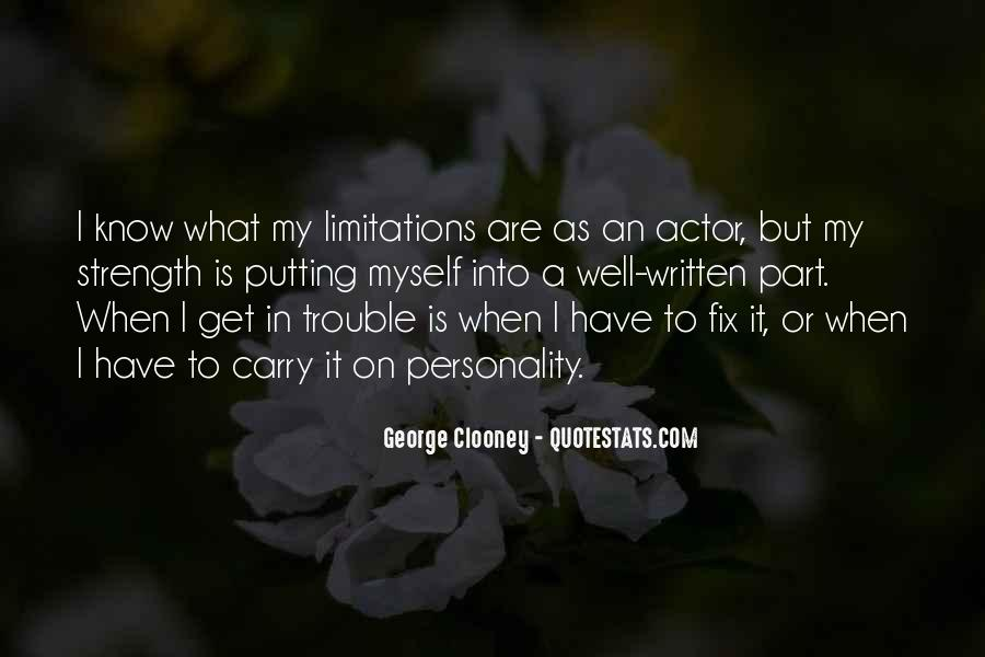 Quotes About George's Personality #1742563
