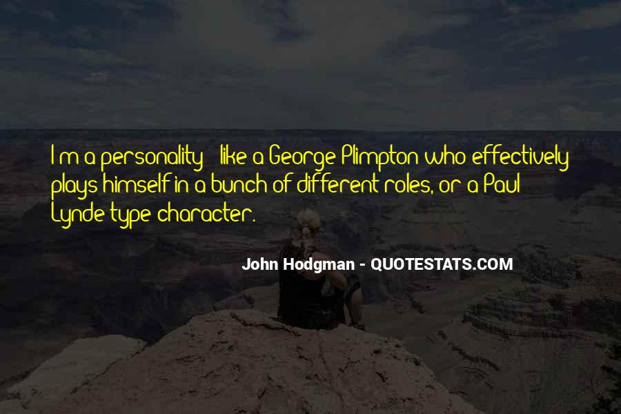 Quotes About George's Personality #1802974