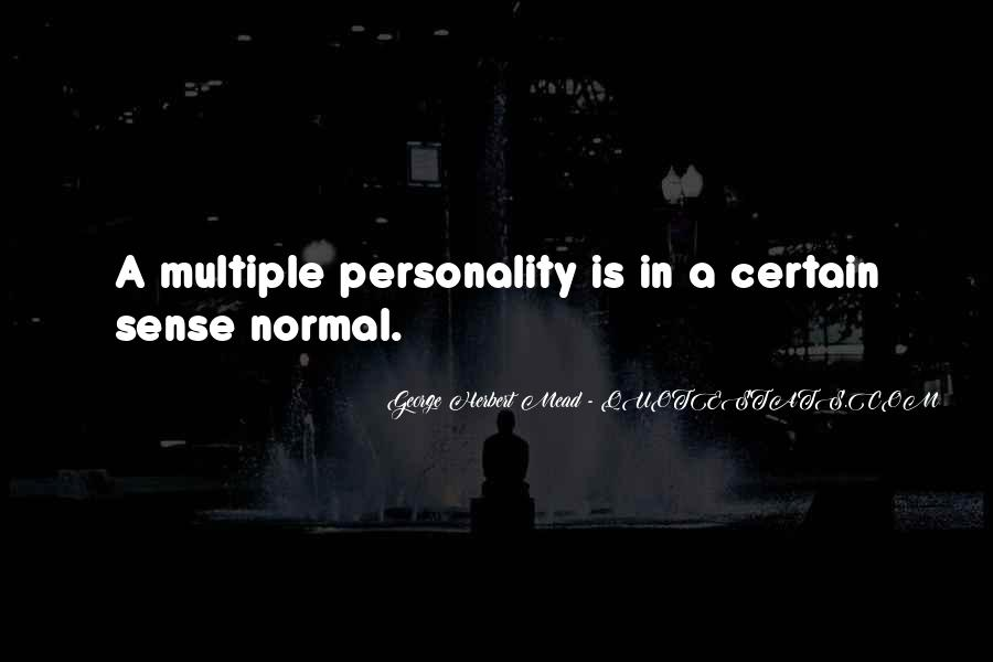 Quotes About George's Personality #1840941