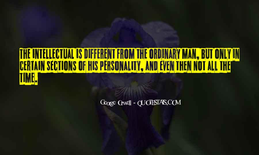 Quotes About George's Personality #1854518