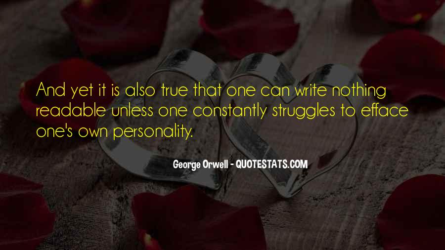 Quotes About George's Personality #322966