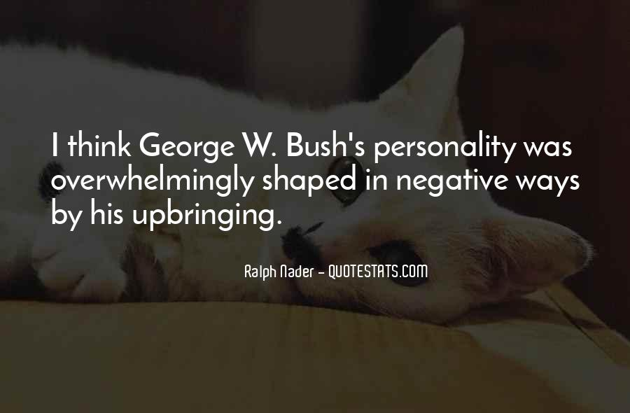 Quotes About George's Personality #705411