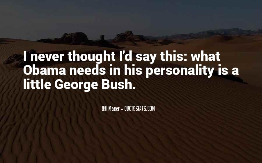 Quotes About George's Personality #802441