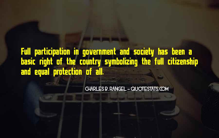 Quotes About Participation In Government #1404259