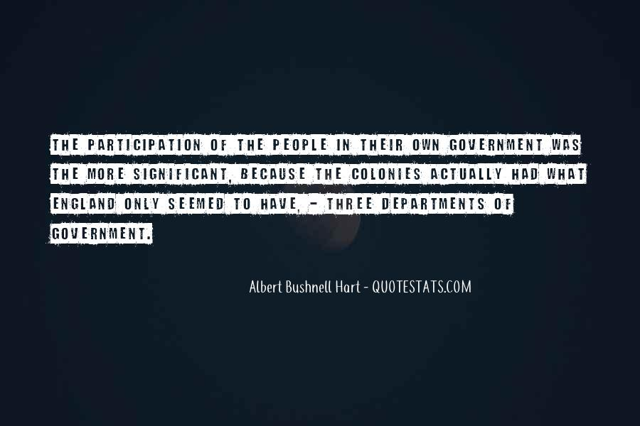 Quotes About Participation In Government #1816084