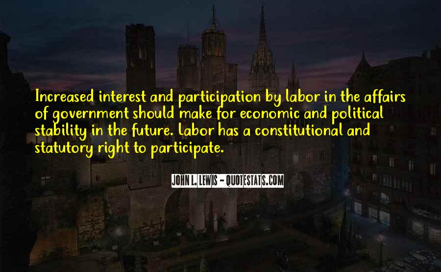 Quotes About Participation In Government #48149