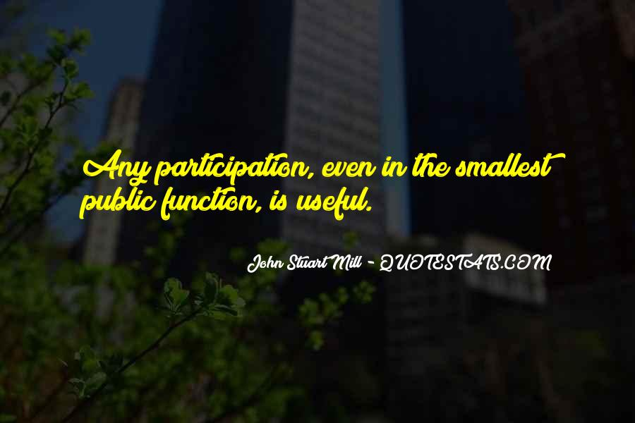 Quotes About Participation In Government #975265