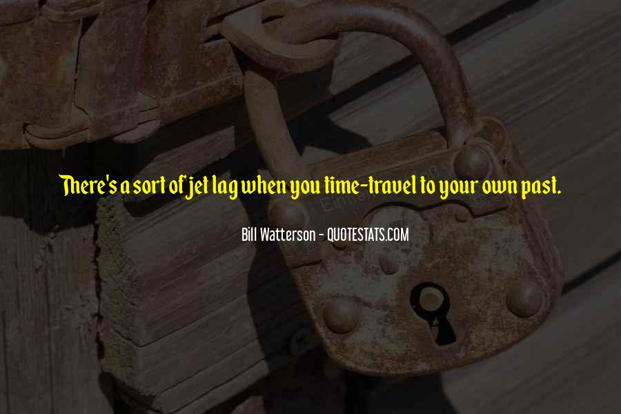 Quotes About Jet Lag #1369608