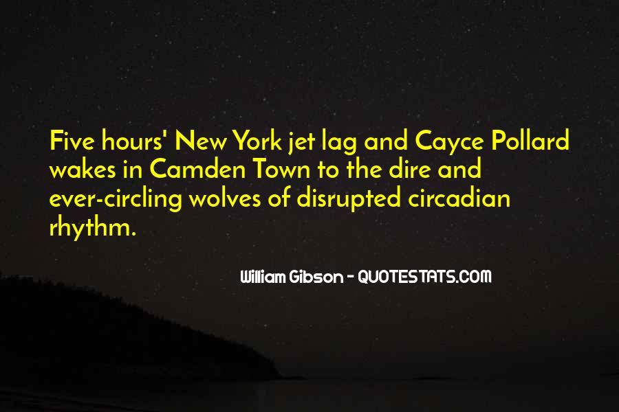 Quotes About Jet Lag #139176