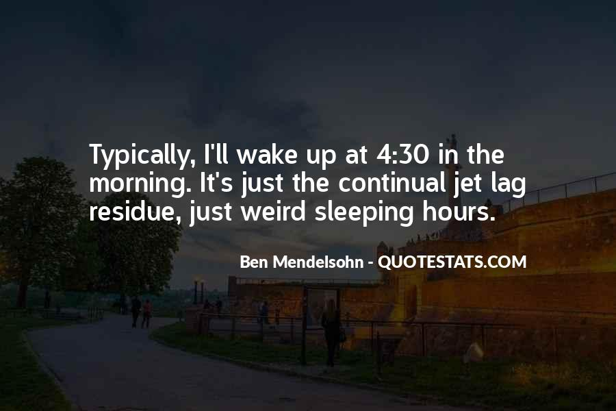 Quotes About Jet Lag #143579
