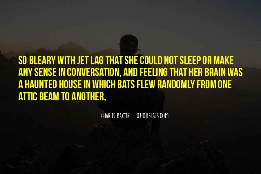 Quotes About Jet Lag #1556680